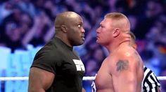 Brock Lesnar vs Bobby Lashley - Steel Cage Match - Wrestlemania XXXI 2015 - YouTube