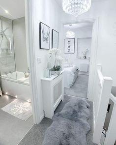 Room Design Bedroom, Home Room Design, Dream Home Design, Bedroom Ideas, Dream House Interior, Luxury Homes Dream Houses, Decor Home Living Room, Room Decor, Dream Rooms
