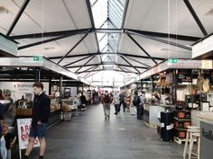 A public food market in Copenhagen, the hottest thing since sliced rugbrød.