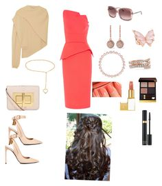 """Untitled #799"" by denaye-mo on Polyvore featuring Tom Ford, Roland Mouret, Alessandra Rich, Lemaire, Stephen Webster, Anita Ko, Ileana Makri and Larkspur & Hawk"