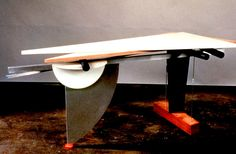 Peter Shire tables