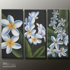Cheap Oil Paintings - Best Magnolia Still Lifes Oil Paintings on Canvas 12x24inch Online with $50.6| DHgate