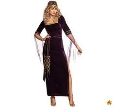 Damen Kostüm Mittelalter Lady Eleanor, Kleid | Krause & Sohn Onlineshop Wrap Dress, Two Piece Skirt Set, Skirts, Dresses, Lilac Color, Medium Long, Vestidos, Skirt
