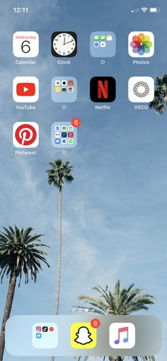 Iphone Home Screen Layout, Iphone App Layout, Iphone App Design, Organize Apps On Iphone, Whats On My Iphone, Phone Organization, Vsco, Homescreen, Iphone Icon