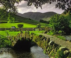 stone bridge - Wastwater, Lake District, England by Ian Cameron Cumbria, Lake District, The Places Youll Go, Places To See, British Countryside, All Nature, Belle Photo, Beautiful Landscapes, Wonders Of The World