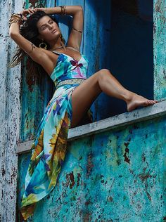 Isabeli Fontana - Morena Rosa Beachwear Collection S/S 2015