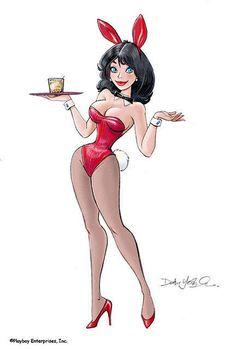 Playboy Bunny - Dean Yeagle