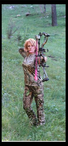Bowhunting~~My Bow: Hoyt Charger in Realtree XTRA Camo, My Arrows: Pink Ted Nugent Gold Tips, My Camo: Realtree ~~ Helen from the Gals at Full Draw https://www.facebook.com/pages/Gals-at-Full-Draw/532113960158472?ref=hl