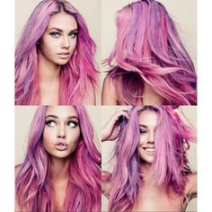 #gorgeous #purplehair #luminous