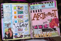 #art journal #art # online workshop