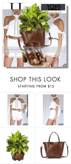 """""""Yoins !!"""" by dianagrigoryan ❤ liked on Polyvore featuring Nearly Natural, yoins, yoinscollection and loveyoins"""
