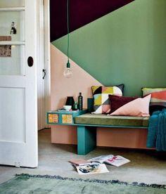 daphnedecordesign_la peinture graphique pour sublimer vos murs: vert rose et mauve foncé_entry
