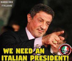 We need an Italian president