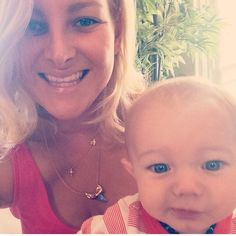 Repost from cutie @seachels3 and her sweet little man - wearing the Mini Shark Tooth Necklace & Bioluminescence Shark Tooth Necklace by Long Lost Jewelry