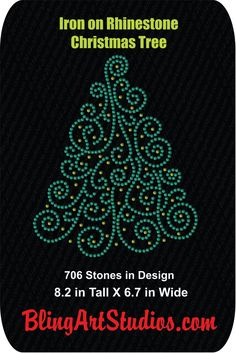 38 best RHINESTONE   VINYL HOLIDAY DESIGNS images on Pinterest ... 2ed2527691dc