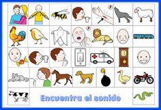 Actividades para Educación Infantil: Juegos de discriminación auditiva (láminas)