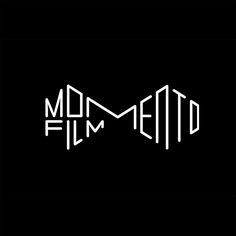 Momento Film by Bedow. (2015) #logo #branding #typography
