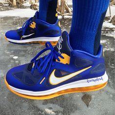 Top Quality Nike Lebron 9 GS 472664 600 Black Laser Pink
