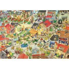 Heye 1000 Parça Puzzle Dragontown Tour Eiffel, Chateau Disney, Dragons, Puzzles 3d, Best Jigsaw, Mercier, Cartoon Art, Game Art, Paintings