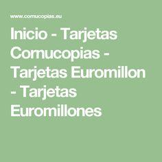 http://www.cornucopias.eu  Sistema de captacion de fondos para todo tipo de Asociaciones, Clubes Deportivos, ONGs, etc.  Las tarjetas Cornucopias, van enlazadas con el juego de Euromillones para un largo periodo, y se han convertido en una herramienta novedosa y revolucinaraia para recaudar dinero todo tipo Asociaciones.  #TarjetasEuromillon, #Premiotarjeta, #Eurolloncar, #TarjetasCornucopias