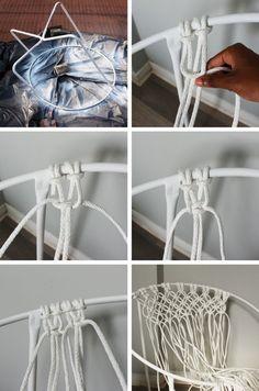 macramé-tuto-chaise-blanche-ronde-étapes-diy-projet-macramé