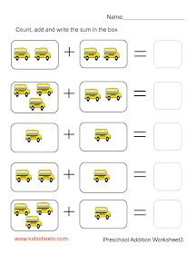 math worksheet : kids math worksheets worksheets and preschool worksheets free on  : Addition Worksheets For Preschoolers