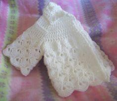 Little Fans Down Under, Baby Sweater-Free Crochet Pattern