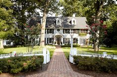 Traditional Exterior by Jules Duffy Designs