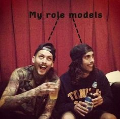 I love these guys! Mike Fuentes Vic Fuentes <3                                                                                                                                                      More