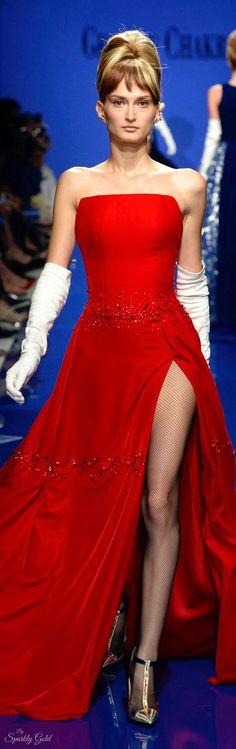 Image result for Christian LaCroix fashion show with Cindy Crawford