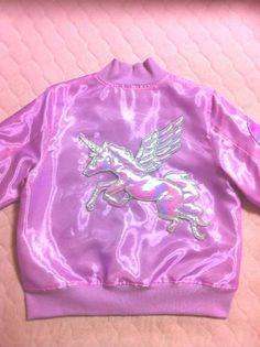 In My Next Life •~• pink iridescent unicorn jacket