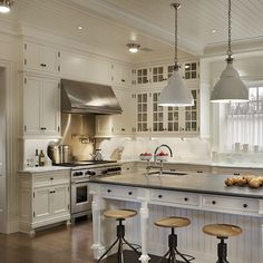 Beadboard Cabinets, Contemporary, kitchen, John B Murray Architect
