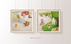 image 0 Illustrations Posters, Envelope, Instagram, Frame, Etsy, Bonheur, Poster Poster, Impressionism, Picture Frame