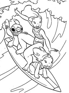 nascar coloring pages | Amazing Coloring Pages: Lilo and Stitch printable coloring pages
