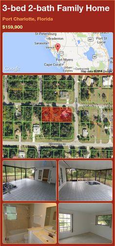 3-bed 2-bath Family Home in Port Charlotte, Florida ►$159,900 #PropertyForSale #RealEstate #Florida http://florida-magic.com/properties/81939-family-home-for-sale-in-port-charlotte-florida-with-3-bedroom-2-bathroom
