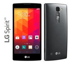 """Ergonomía, diseño y elegancia cómodamente en tus manos Smart Phone LG Spirit Curvo 4G Pantalla de 4.7"""" HD, Memoria 8Gb Procesador 4 Núcleos 1.2Ghz Camara 8Mp Flash Batería 2.100mAh $395.000"""
