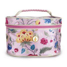 Beauty case BLOOMINGTALES PINK L   PIP STUDIO in vendita su ATMOSPHERE - Oggettistica di design, accessori tavola, tessile casa, idee regalo