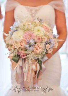Summer pastel Bridal Bouquet