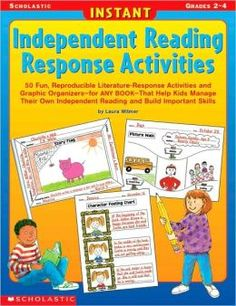 Literature Response Worksheets | Reading Response Activities: 50 Fun, Reproducible Literature-Response ...