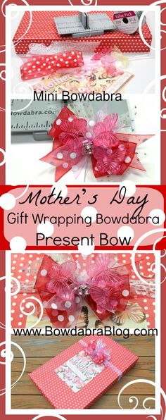 Mothers Day Gift Wrap Bowdabra Present Bow