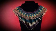 Collier raz de cou en perles fines de rocailles brillantes, ajustable, convient aux cous étroits ou larges ! Collier très élégant, pouvant être