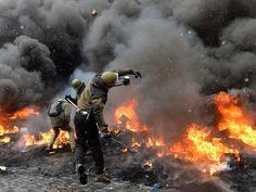 """Euromajdan w rosyjskich mediach. """"Bitwa orków z goblinami"""""""