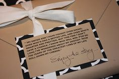 A Gift Wrapped Life - Gifting Tips, Advice and Inspiration: A Bookish Gift.........and wrapping it too