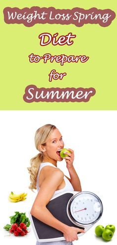 Weight Loss Spring Diet to Prepare for Summer.