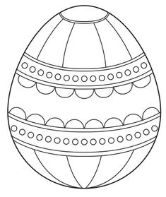 Easter Egg Coloring Pages - Coloring Point - Coloring Point