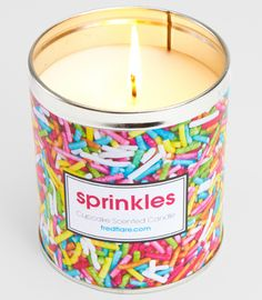 Sprinkles Cupcake Scented Candle