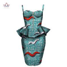 2017 african dress Plus Size 2 Pieces African Print Dashiki Shirt Skirt Set Bazin Rche Femme Africa Clothing 5xl natural WY1390