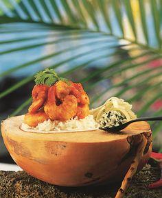 Recette rougail de crevettes à la mauricienne - Marie Claire