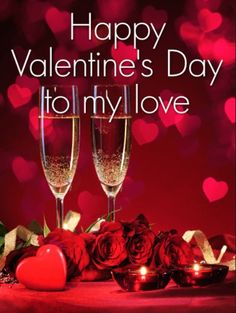 Send Free To my Love - Happy Valentine's Day Card to Loved Ones on Birthday & Greeting Cards by Davia. Valentines Day Love Quotes, Happy Valentines Day Pictures, Happy Valentines Day Card, Valentine Pics, Birthday Greeting Cards, Birthday Greetings, Birthday Wishes, Card Birthday, Birthday Reminder