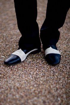 black and white men s wedding shoes  weddingpreparationthoughts Men s  Wedding Shoes c83bd0eb835